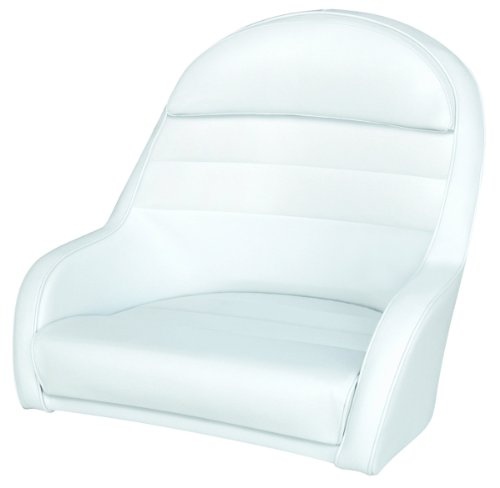 Wise 8wd120ls 204 Pontoon Captains Bucket Seat White